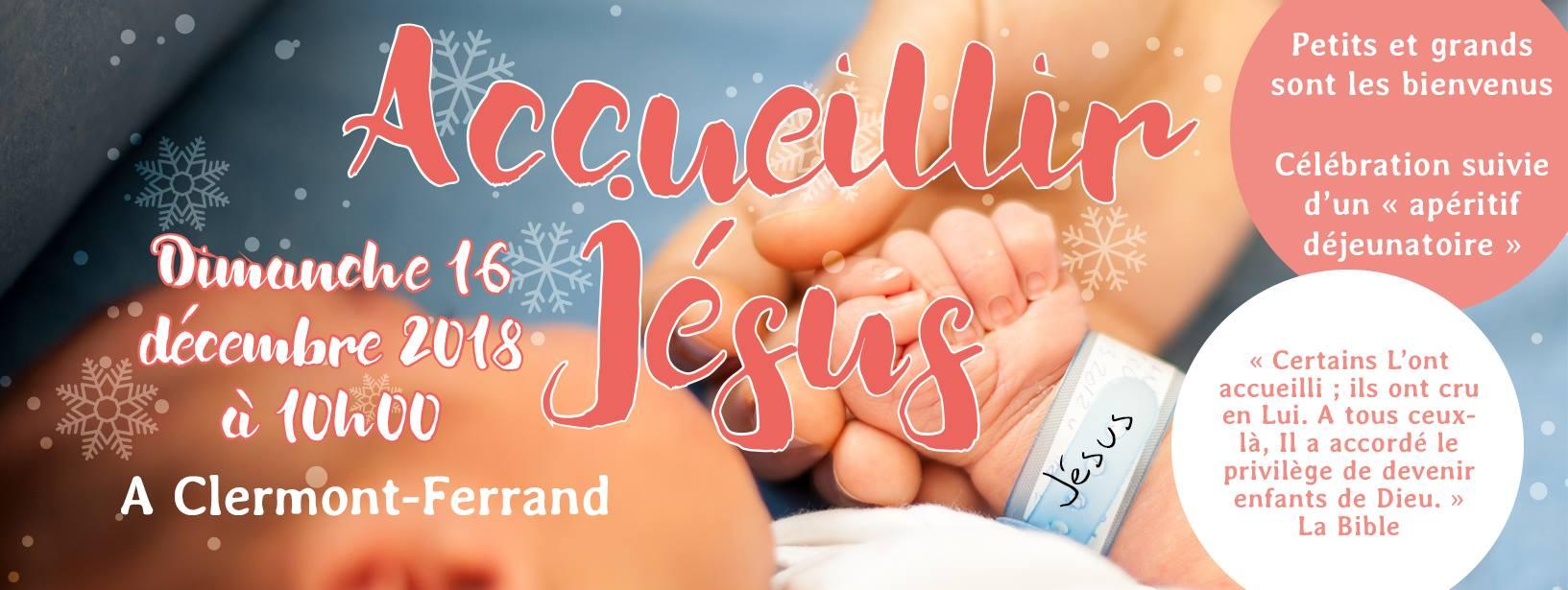 Accueillir Jésus