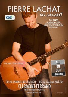 Concert de Pierre Lachat