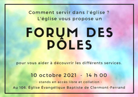 Forum des pôles